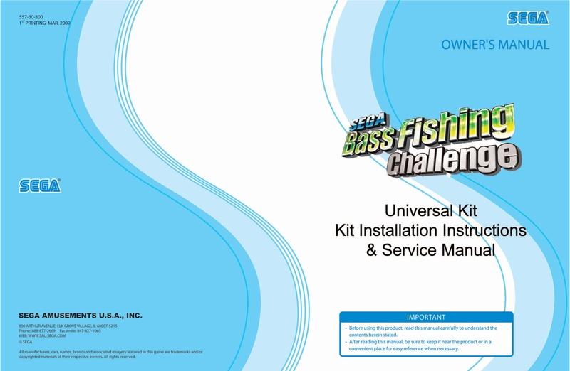 File:SegaBassFishingChallenge Atomiswave US Manual.pdf - Sega Retro