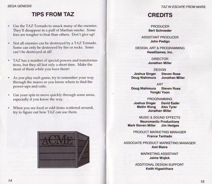 File:Taz Escape From Mars MD US Manual.pdf