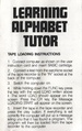 Learning Alphabet Tutor SC3000 NZ Manual.PDF