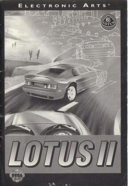 File:Lotus II MD US Manual.pdf - Sega Retro