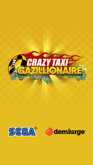Crazy Taxi Gazillionaire title screen.png