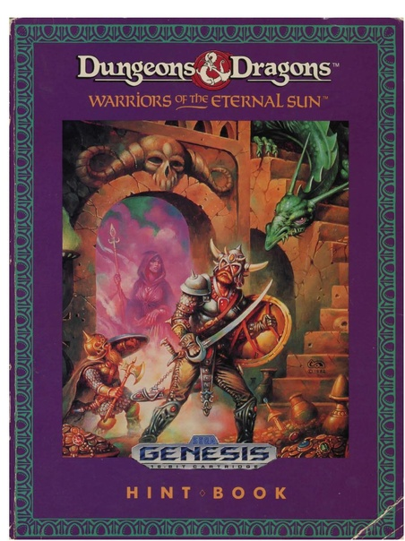 File:Dungeons & Dragons Warriors of The Eternal Sun MD US Clue ...