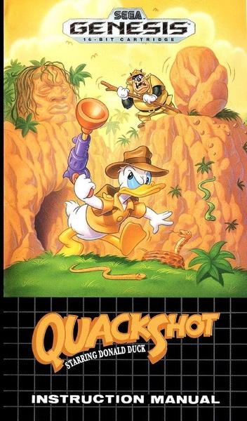 File Quackshot Md Us Manual Pdf Sega Retro