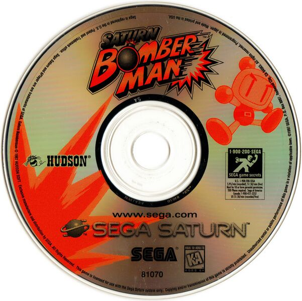 File:SaturnBomberman Saturn US Disc.jpg