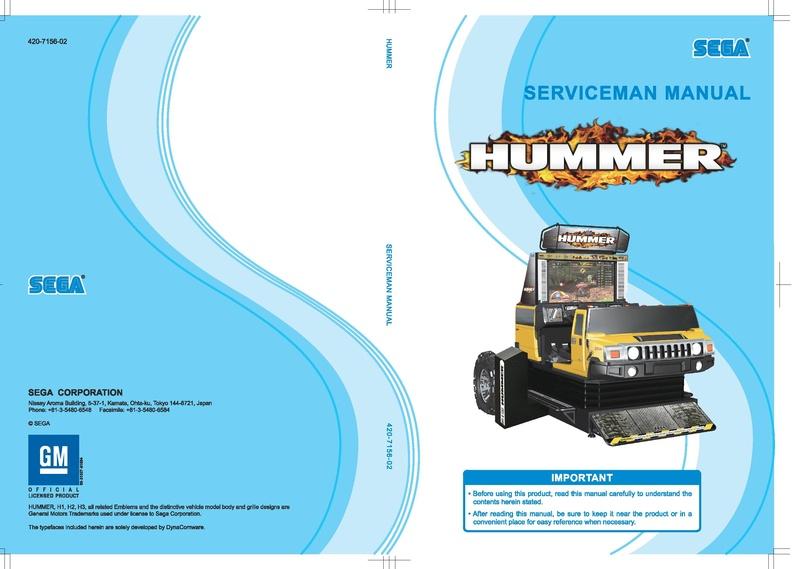 File:Hummer Lindbergh DigitalManual Serviceman.pdf - Sega Retro