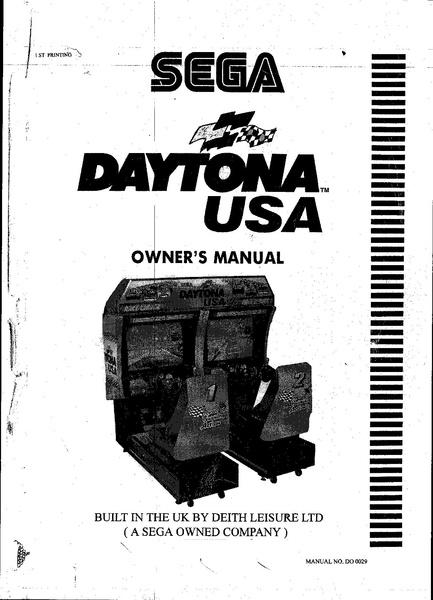 daytona usa manual pdf