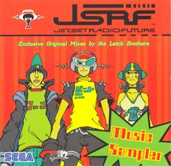 Miraculous Jet Set Radio Future Music Sampler Personalised Birthday Cards Veneteletsinfo